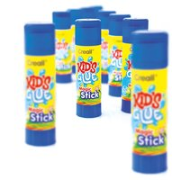 Creall-Kids-Glue Magic Klebestift blau 22g 12 Stück
