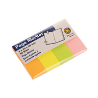 Pagemarker 20x50mm 4x50Blatt pastell mix
